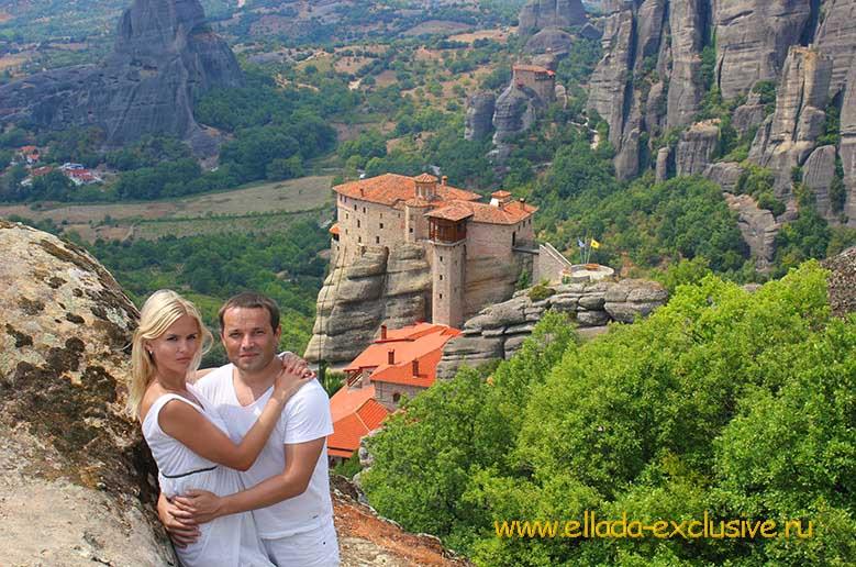 Свадебная Фотосессия в Метеорах Греции